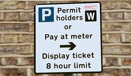 Peterborough Removals - Parking Permit in Peterborough