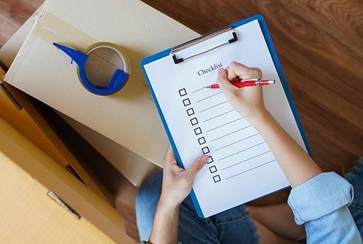 Removals Checklist - Peterborough Removals