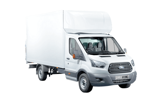 Luton Removals Van in Peterborough